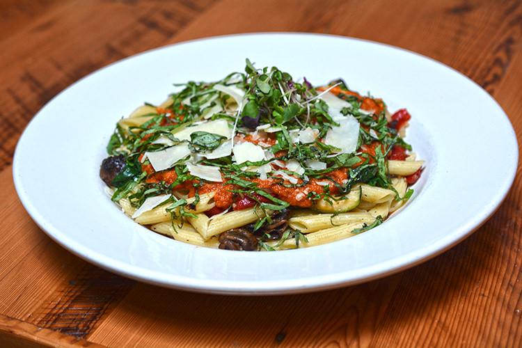 Summer Vegetable & Penne Pasta