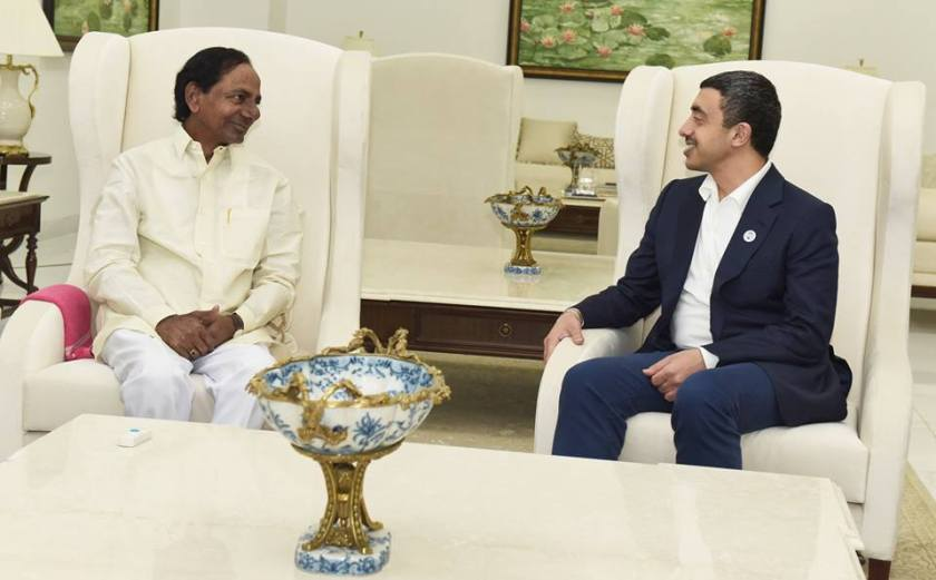 Hyderabad Updates, CM, KCR, UAE Minster, IT Minister, KTR
