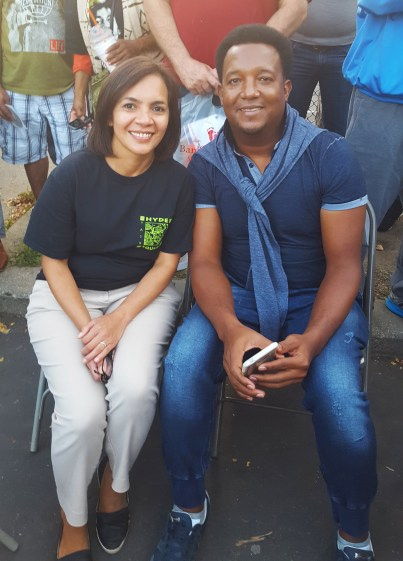 To our surprise, Boston Red Sox legend Pedro Martinez joined us at the Fiesta to enjoy live music and entertainment in Boston's Latin Quarter.