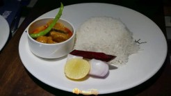 AB's Sea Food Festival - Goan Pompfret Curry with Rice