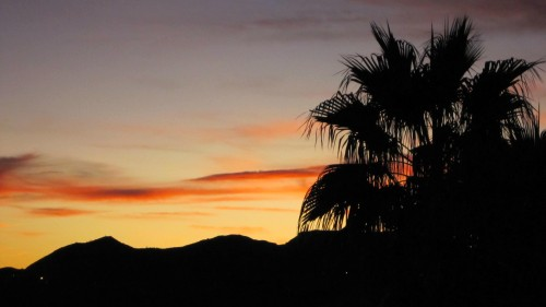 Mesquite Nevada Sunset