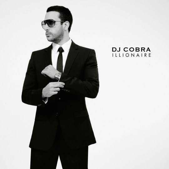 "DJ COBRA ""ILLIONAIRE"" CD COVER FRONT"
