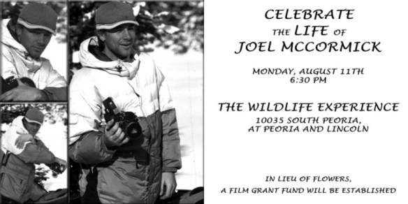 Celebration of Joel McCormick