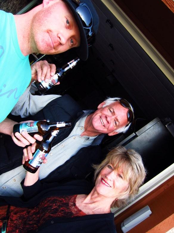Les Hydle + Greg Hydle + Susan Hydle