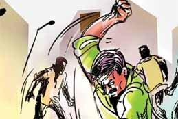 Three Congress Leaders Thrashed By Angry Mob In Bhopal