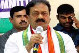KCR's Wrong Policies Shattered Economy Of State: Shabbir Ali