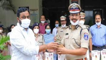 Eco-Friendly Seed Ganesha Launched By Cyberabad CP
