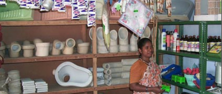 Got Toilets?  Benefits of the Rural Sanitation Mart