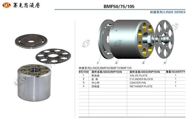 Запчасти к гидронасосам на Linde серии BMF50-105