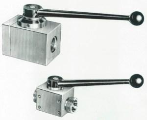 "TGL 21575 - Orsta Hydraulik Absperrventile ""Kugelhähne"""