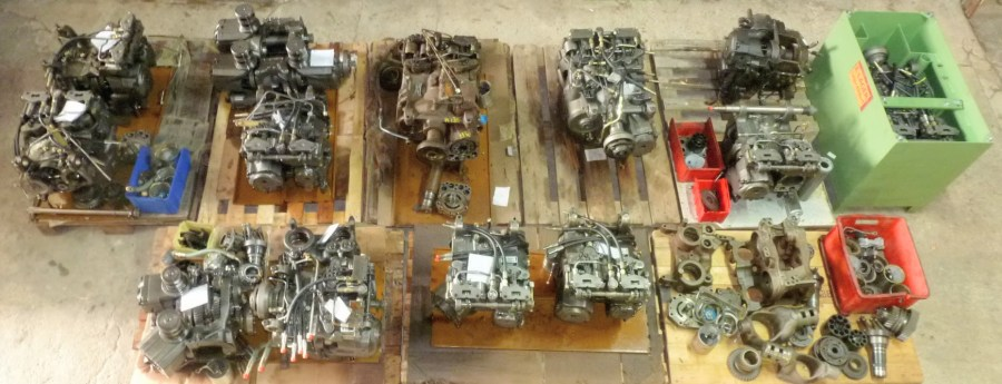 Repair-gearbox-vario-fendt-massey