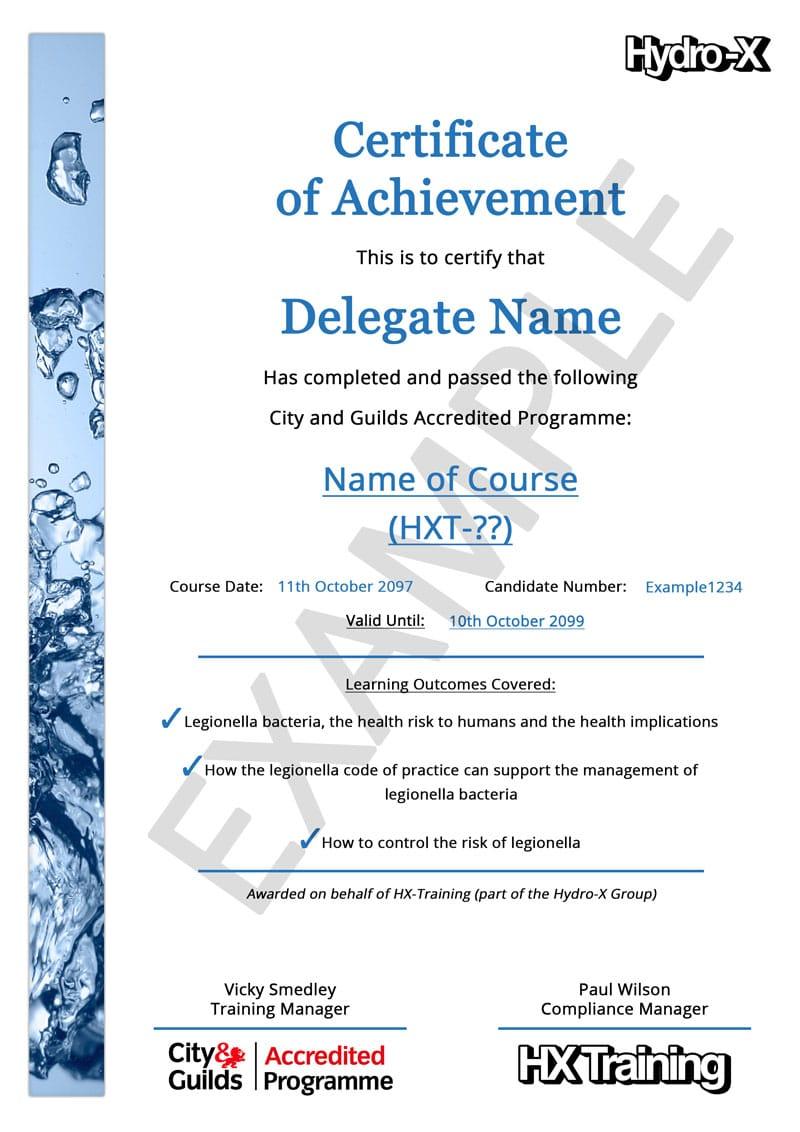 Landlord Legionella Risk Assessment Training 130 City Guilds