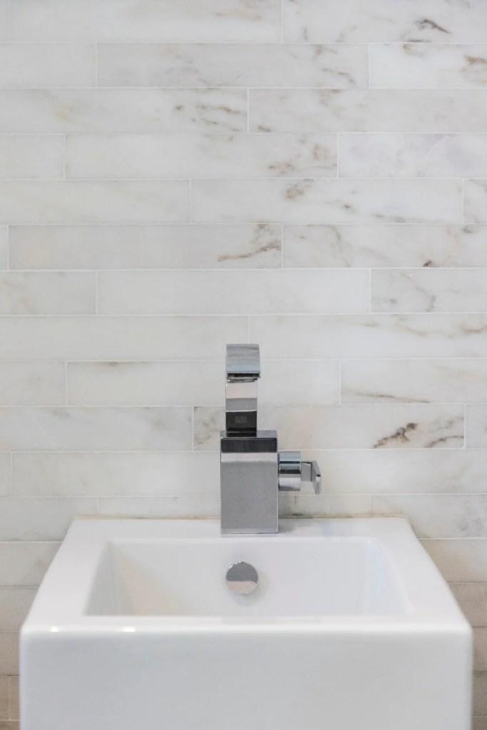 Sink in Le Meridien Hotel