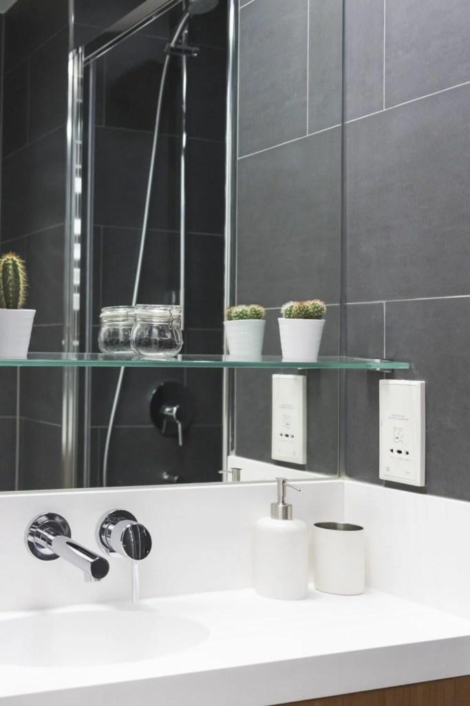 Bathroom Mirror in Exeter College