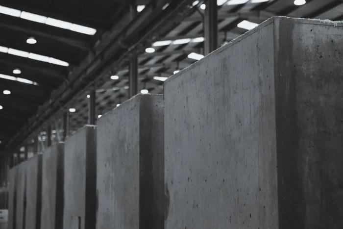 Cubik concrete prefabricated bathrooms
