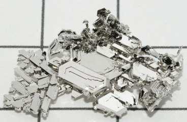 Hydrogen Fuel Cells - Pure Platinum Crystals