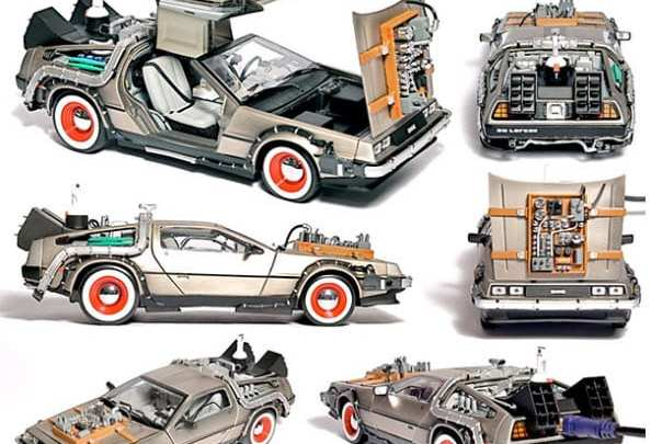 Back to the future inspiration for cool hydrogen fuel remote control model