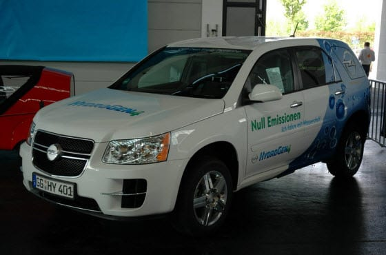 Famed automaker Opel enters the field of hydrogen powered vehicles