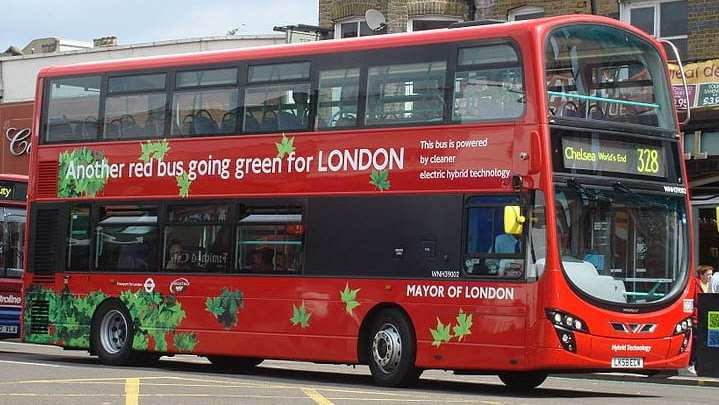 London's iconic double-decker buses to run on hydrogen fuel cells
