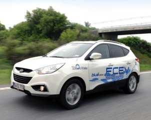 Hydrogen Fuel Cell Vehicle - Hyundai ix35 FCEV