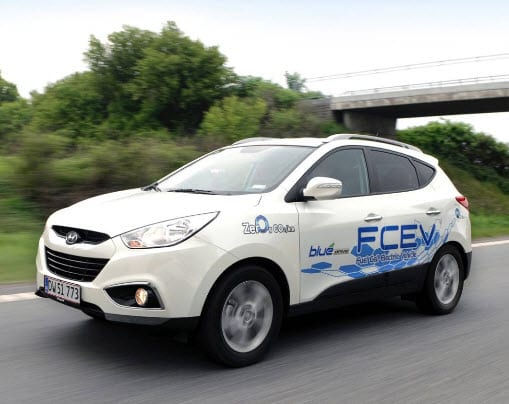 Hyundai delivers hydrogen fuel cell vehicles to Denmark