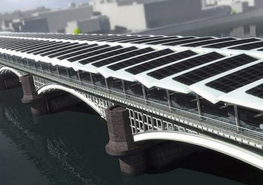 United Kingdom to be home to the world's largest solar bridge in 2012
