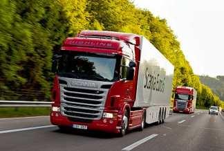 Hydrogen Fuel Powered Truck