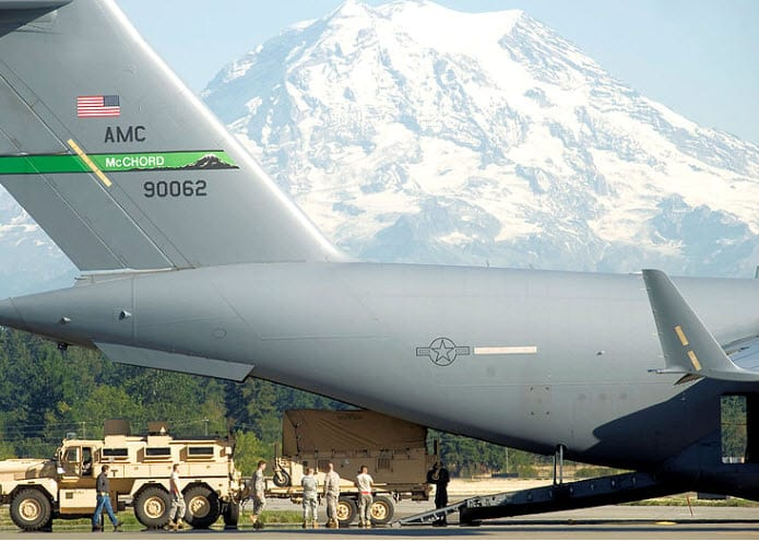 U.S. military base generates its own hydrogen gas to power new fleet of forklifts