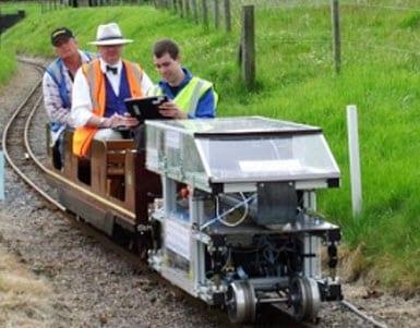 Hydrogen locomotive developed in the UK