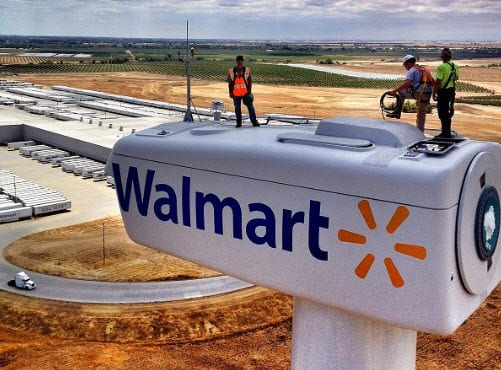 Wind energy systems comes to Walmart distribution center