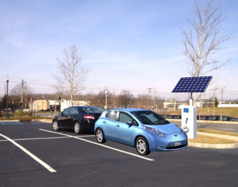 Electric vehicle infrastructure may get a boost from new charging station