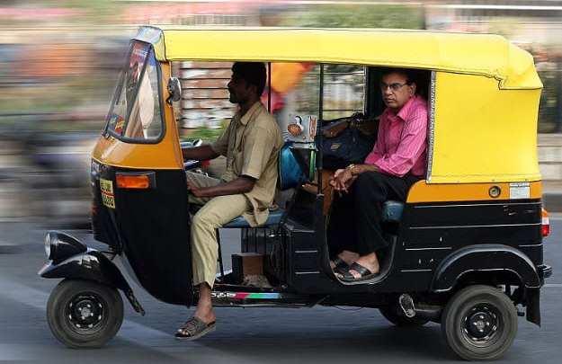 Hydrogen powered autorickshaws making the streets of Delhi cleaner