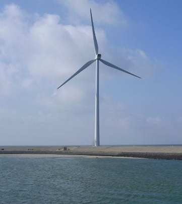 World's first floating wind turbine being tested off the coast of Maine