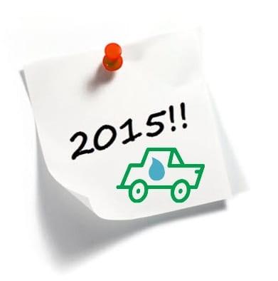 Hydrogen powered cars abundant by 2015