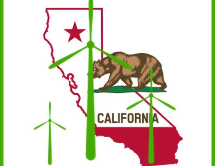 Wind energy gaining ground in California