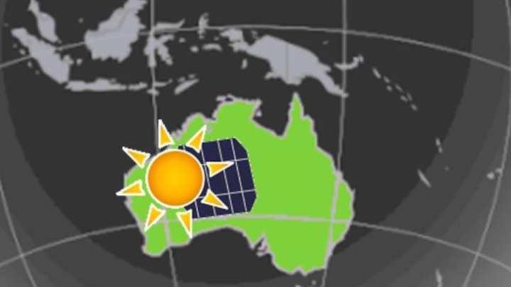 New solar energy system comes online in Australia