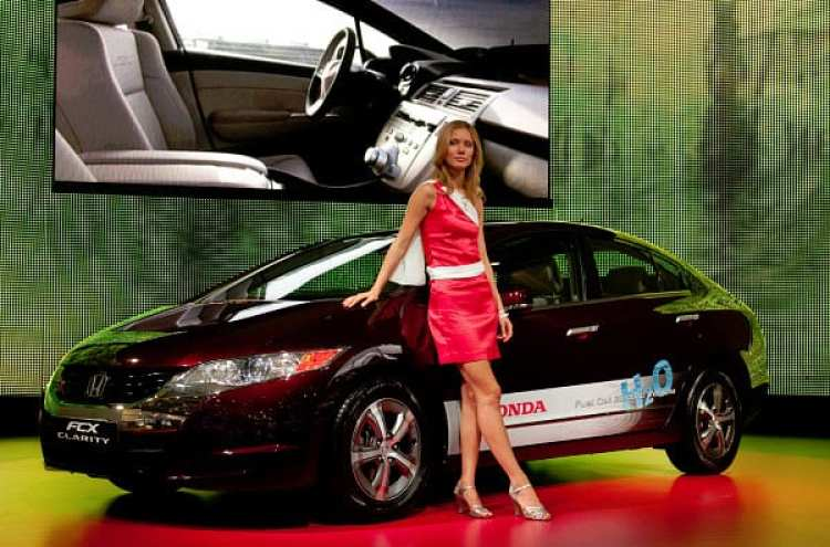 Honda Clarity Fuel Cell Vehicle