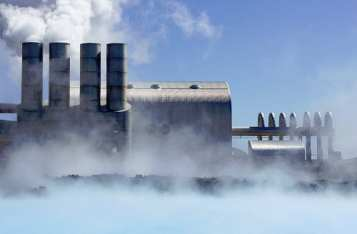 geothermal power - hybrid power plant