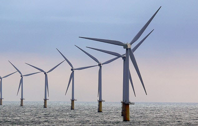 One of the world's first offshore wind energy system goes live in the United States