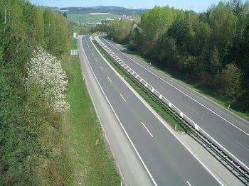 Hydrogen Fuel - Autobahn in Germany