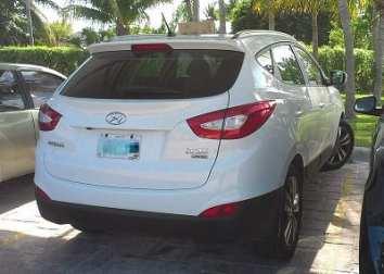 Hydrogen Fuel - ix35 Hyundai vehicle