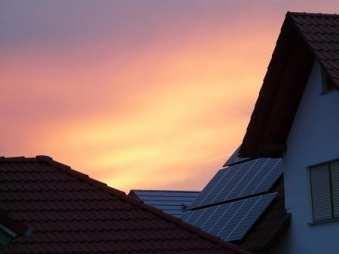 Residential Solar Energy - Solar Panels on home rooftops