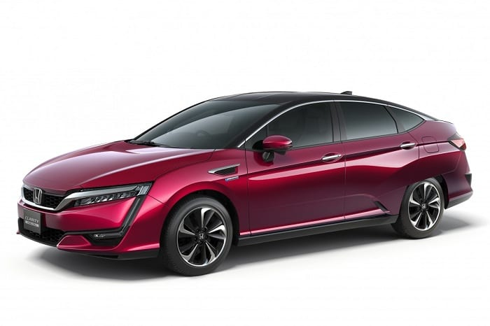 Honda Clarity Fuel Cell priced to compete with the Toyota Mirai