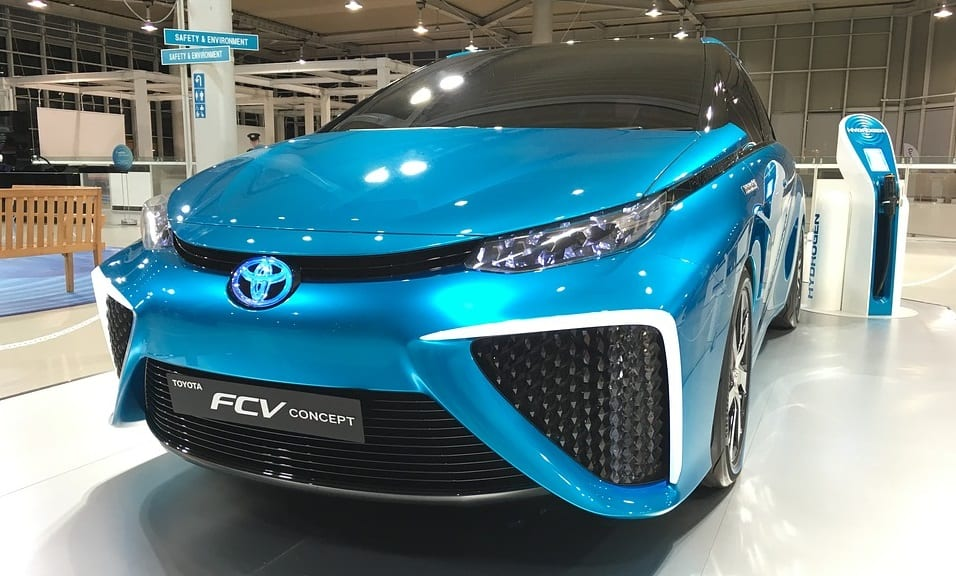 Toyota is set to test fuel cell vehicles in China