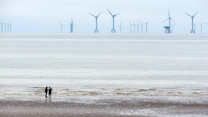Floating wind energy system is taking form in Scotland