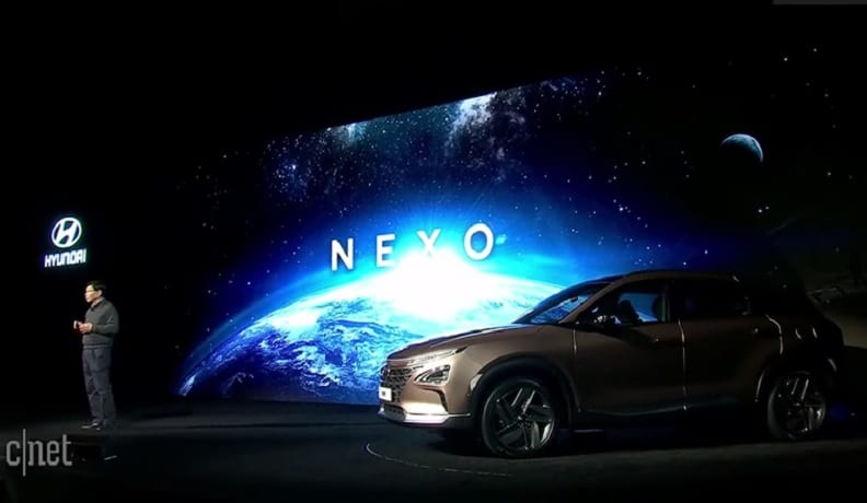 Automaker has revealed the name of its new fuel cell vehicle