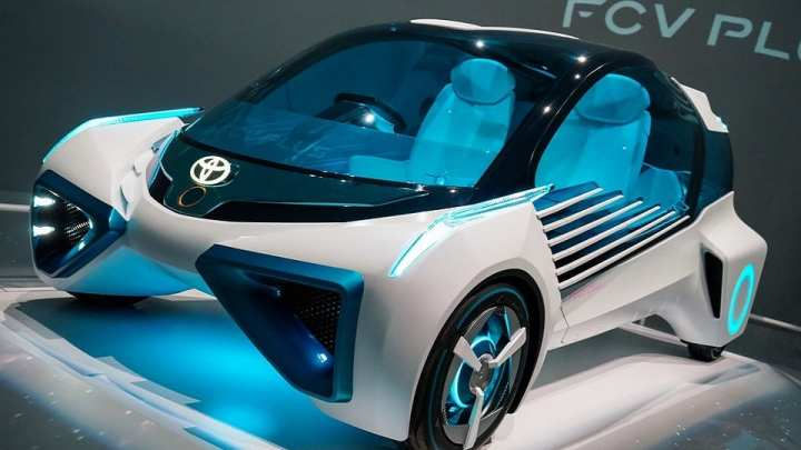 Toyota has high hopes for hydrogen powered cars