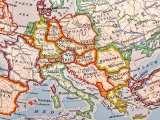 European renewable energy - Map of Europe