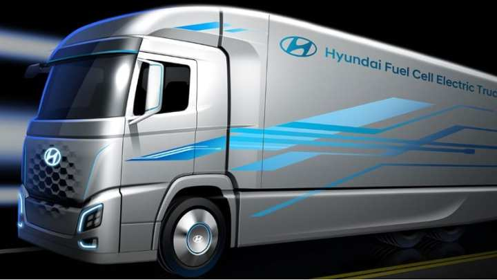 New Hyundai fuel cell electric truck to be launched in 2019
