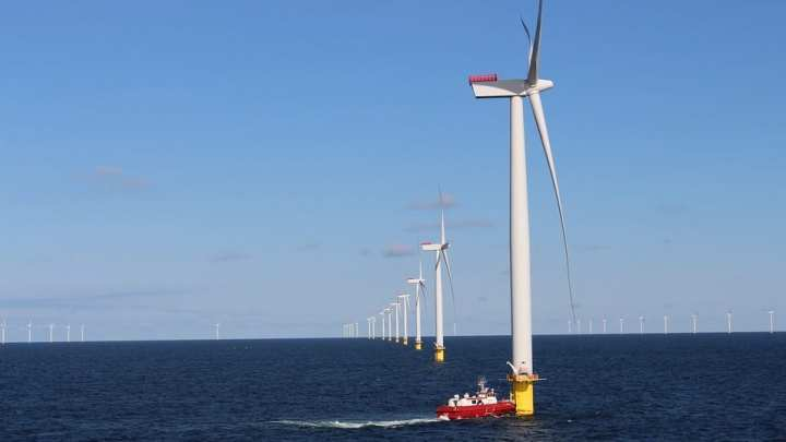Floating wind farm in Scotland shows impressive performance results